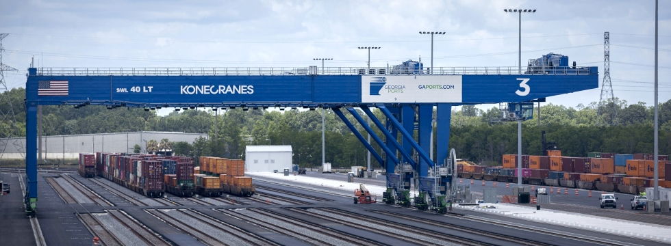 Port of Savannah rail project
