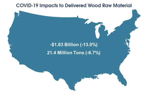 wood raw material consumption