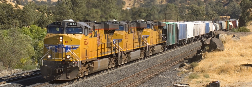 Union Pacific - rail freight